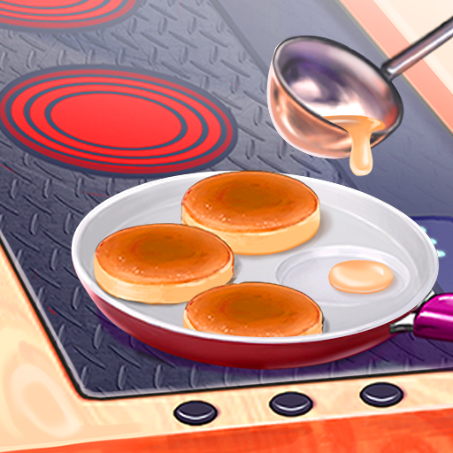 Hell's Cooking: crazy burger, kitchen fever tycoon v1.80 (Mod Apk) logo