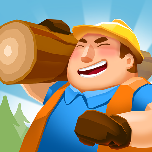 Idle Forest Lumber Inc: Timber Factory Tycoon v1.1.0 (Mod Apk) logo
