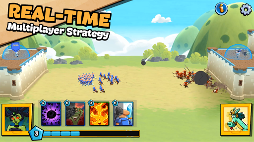 Out Of Mana - Real-Time Fantasy Strategy!