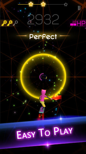 Smash Colors: Free Music Game Neon Cyber Surfer