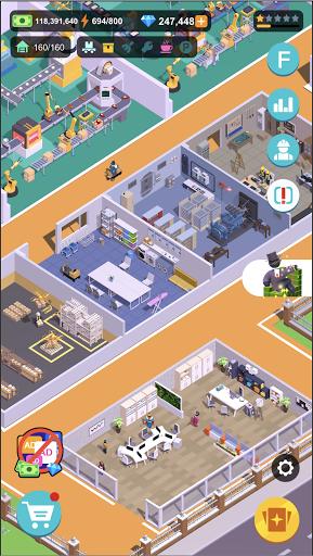 Super Factory-Tycoon Game