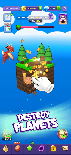 Tiny Worlds: Dragon Idle games