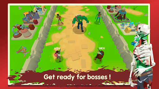 Two Guys & Zombies 3D: Online game with friends