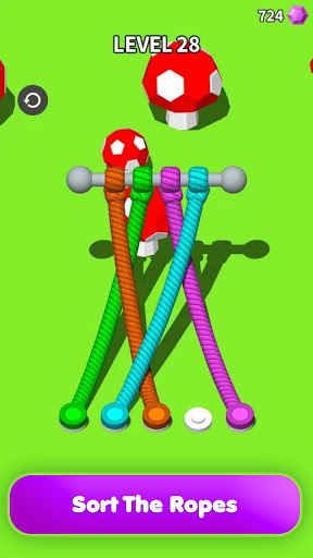 Untangle 3D: Tangle Rope Master - Fun Puzzle Games