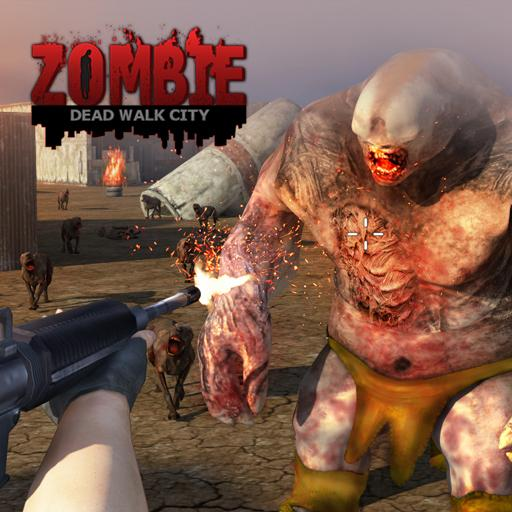 Dead Walk City : Zombie Shooting Game
