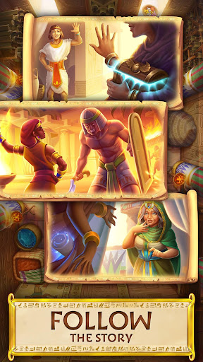 Jewels of Egypt: Gems & Jewels Match-3 Puzzle Game
