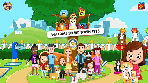 My Town : Pets, Animal game for kids