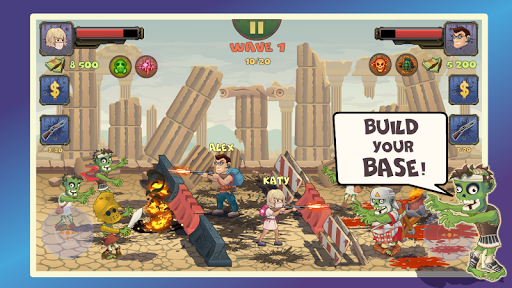 Two guys & Zombies 2 (two-player game)
