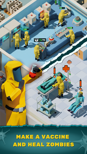 Zombie Hospital Tycoon: Idle Management Game