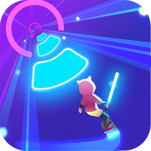 Cyber Surfer: Free EDM Music Game Smash Colors 2