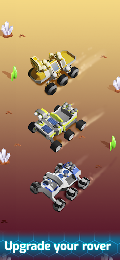 Space Rover: idle planet mining tycoon simulator