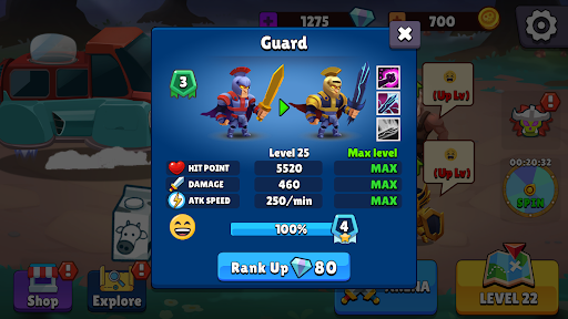 Chaotic War 3: Legendary army
