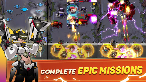 Cyber War: zombie idle, tower defense games