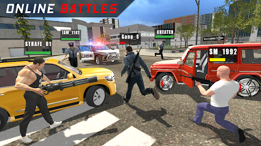 Police vs Gangsters 4x4 Offroad