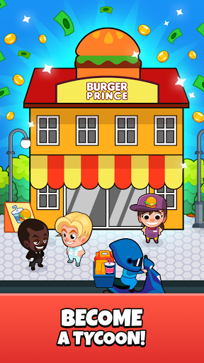 Idle Delivery Tycoon - Merge Restaurant Simulator